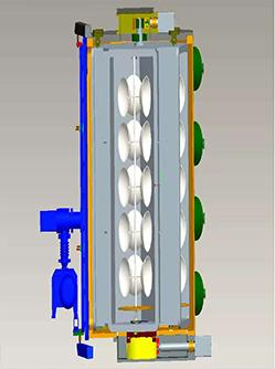 循环磁控连续镀膜机