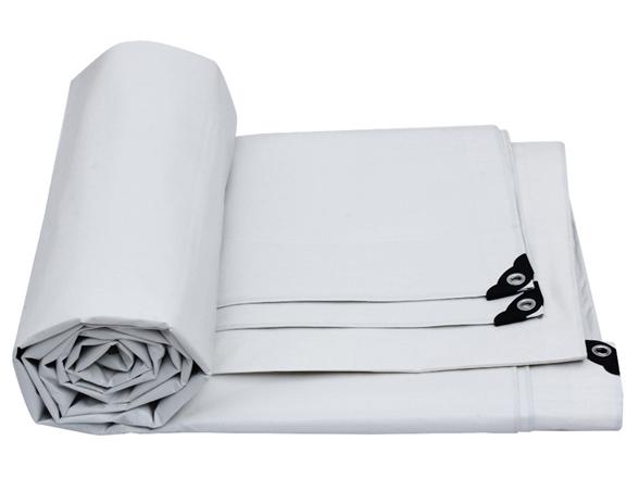 70g阻燃白色篷布