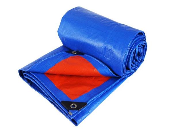 170g防尘防雨一面蓝一面橘色篷布