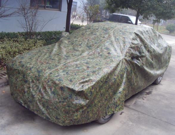 迷彩车罩盖布