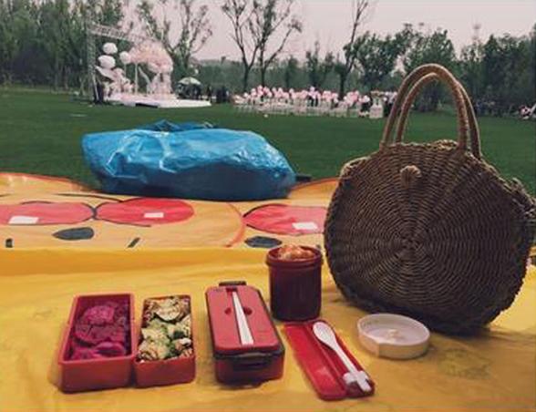 日本面包超人野餐墊