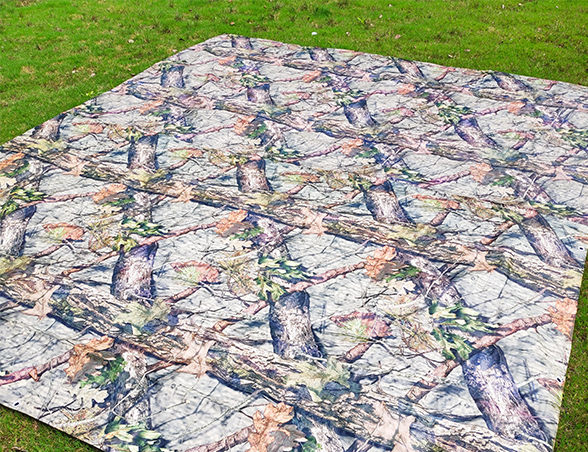 140g防雨迷彩树枝篷布