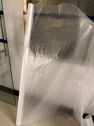 啞光單面涂膜編織布