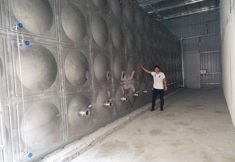 黑龙江不锈钢水箱