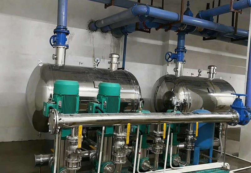 无负压供水设备安装
