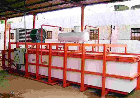 木材干燥設備