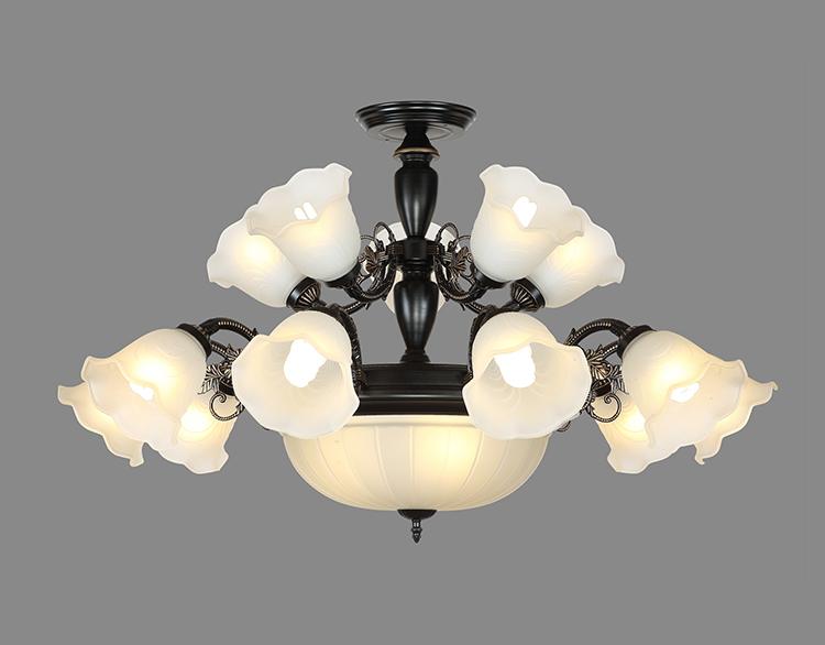 铁艺LED吊灯