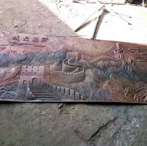 吉林浮雕图案