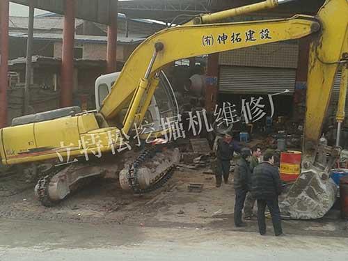 湖南挖掘机维修