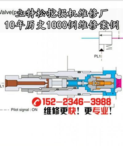 [简阳市挖掘机维修厂]神钢挖机有一边行走一点劲原因分析