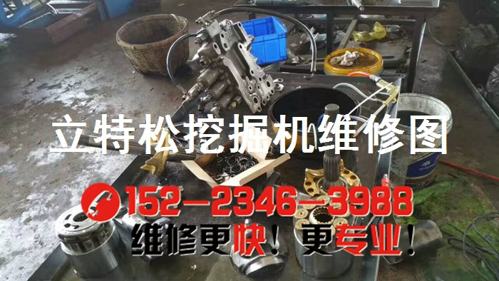 挖掘机维修厂-剑阁县神钢挖掘机憋机,流量调不了
