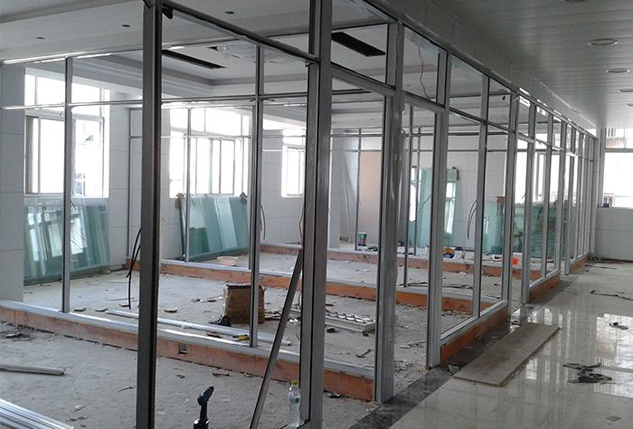 江北中信大厦施工框架