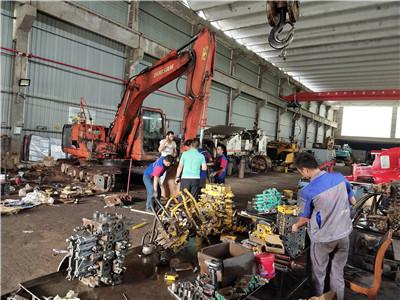 贵州现代火狐体育app官方维修公司-现代225-7挖机动作速度变慢且迟缓无力原因分析