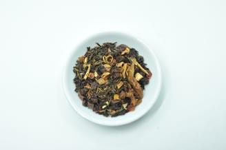 热带水果绿茶