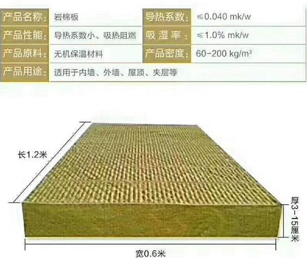 辽宁岩棉板