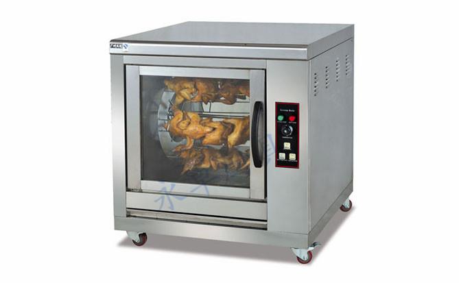 单层旋转电烧烤炉