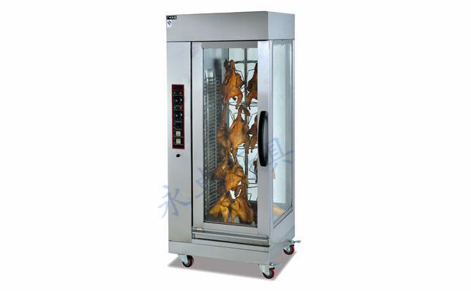 立式旋转电烤炉