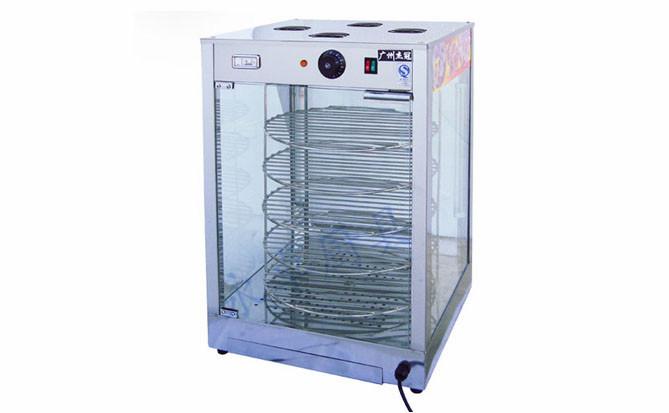 比萨旋转保温柜