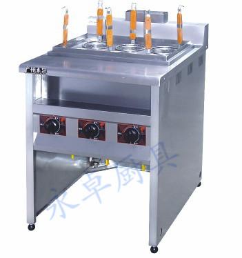 立式喷流式燃气煮面机