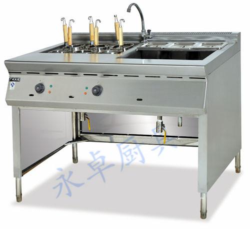 喷流式燃气煮面机带汤盆
