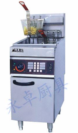 立式单缸双筛电炸炉(带计时器) DF-26A