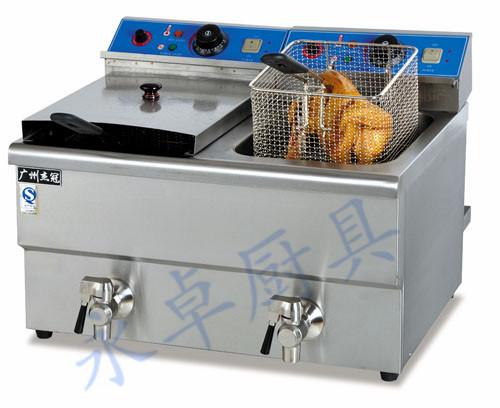 台式双缸双筛电炸炉 DF-10L-2/12L-2