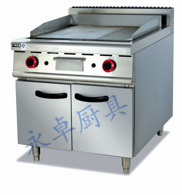 立式燃气扒炉连柜座 GH-986/786(700)