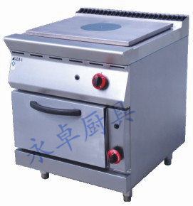 法式燃气热铁板炉连柜座 GH-783-2/983-2