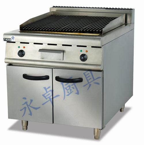 立式电烧烤炉连柜座