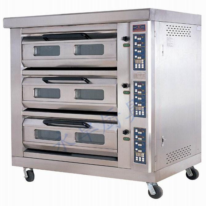 微电脑控制豪华披萨电烘炉(三层)