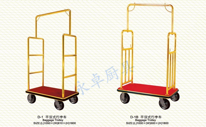 平顶式行李车D-1