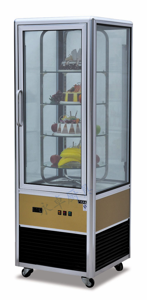 玻璃展示冷柜(杰冠)