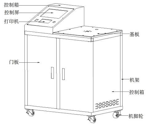 口罩呼吸气阻力测试仪
