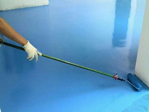 环氧树脂砂浆涂装地坪