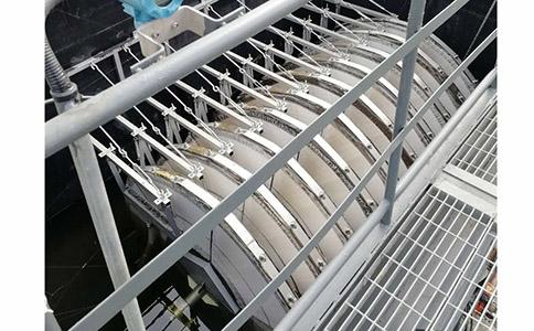 全浸没式纤维转盘过滤设备