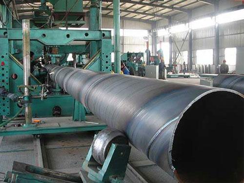 螺旋焊管机