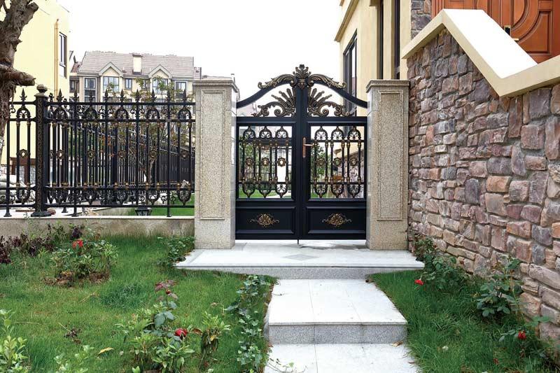 山东庭院门