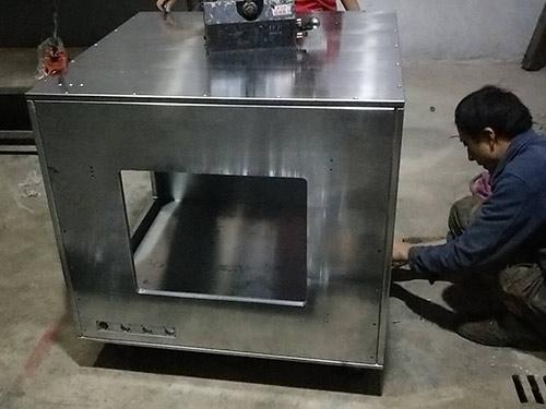 自动化设备机架焊接