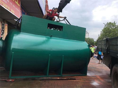 污水处理箱体焊接