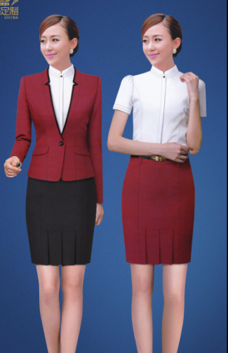 促销员时尚服装