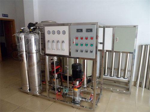 机械纯化水设备