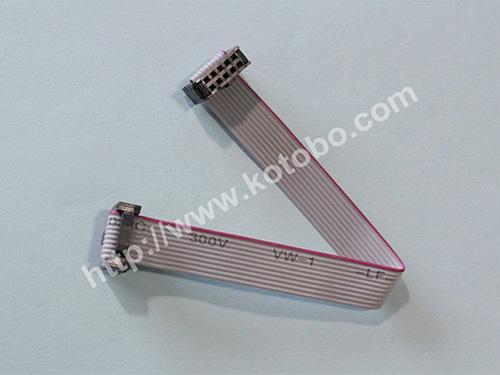 灰排线UL2651 10Pin,1.27mmPH