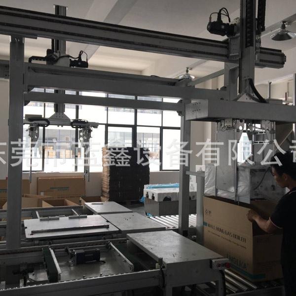 自动包装线装箱机