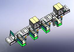 5G模组生产线