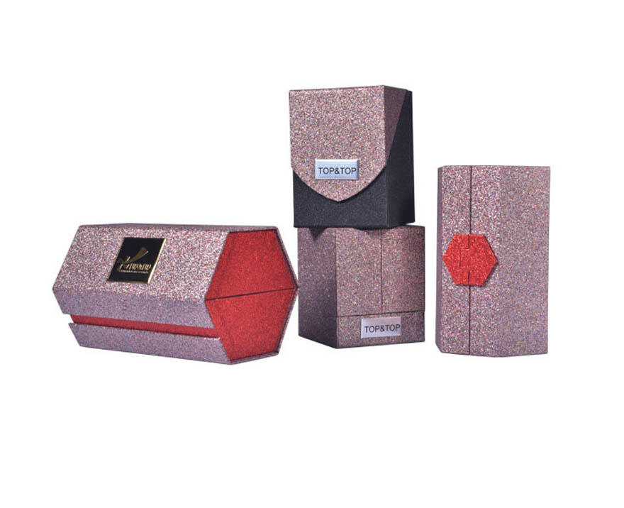 Custom Cosmetic Packing Set Rigid Paper Gift Box