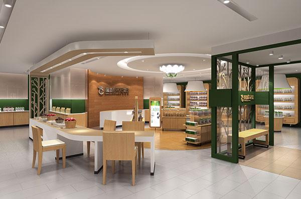 曼城食品展厅