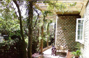 豪華別墅庭院