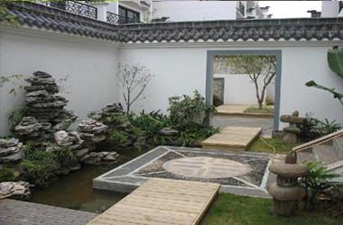 欧式别墅庭院