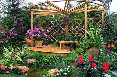 私家花園設計施工