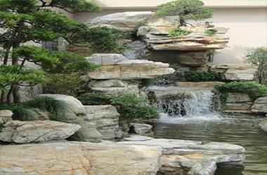 別墅庭院景點